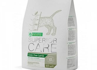 SUPERIOR CARE  SENSITIVE SKIN & STOMACH - GRAIN FREE LAMB
